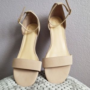 Shoes - Nude pink sandals